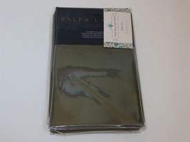 Ralph Lauren 624 Solid Sateen Tweed Green Standard Pillowcases - $61.70