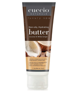 Cuccio Naturale Butter,  Coconut & White Ginger   4 oz - $8.50