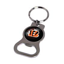 Non Metal Nfl Cincinnati Bengals Bottle Opener Key Ring By Rico Industries (Leng - $11.62