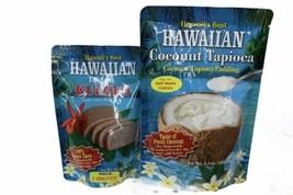 2 Pack-Hawaiis Best Instant Kulolo 5.6 Oz & Coconut Tapioca 6.4 Oz - $44.55