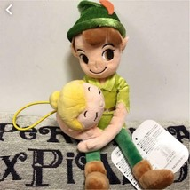Disney Peter Pan & Tinkerbell Curtain Tassel Plush Doll Door way String ... - $58.41
