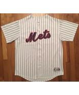 Majestic New York Mets NYM David Wright MLB Baseball Home White Jersey XL - $99.99
