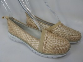 Propet TravelLite Size 7 M (B) EU 37 Women's Slip-On Woven Shoes Champagne W3238