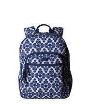 Vera Bradley Campus Backpack Cobalt Tile - $69.00