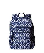 Vera Bradley Campus Backpack Cobalt Tile - £51.77 GBP