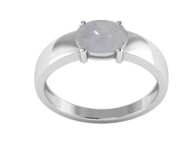 Rainbow Moonstone Shining Gemstone 925 Sterling Silver Jewelry Ring Sz6 ... - $15.24