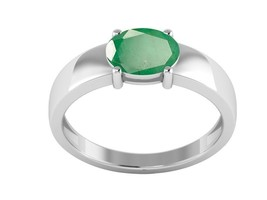 Special Jewelry for Women 925 Sterling Emerald Gemstone Silver Ring Sz7 ... - $29.17