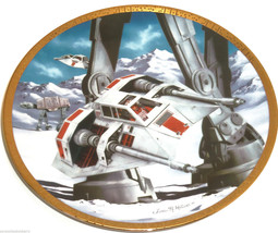 Star Wars Collector Plate Snowspeeders Space Ve... - $49.95
