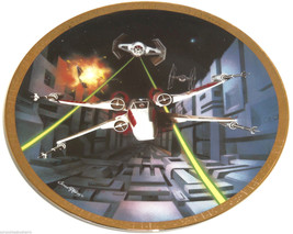 Star Wars Collector Plate Red Five X-wing Fight... - $49.95