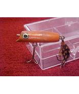Orange Wood Fishing Lures - $3.99