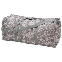 "Large 39"" Camo Water-Resistant Mens Army Duffle Travel Overnight Bag Lug... - $37.49"