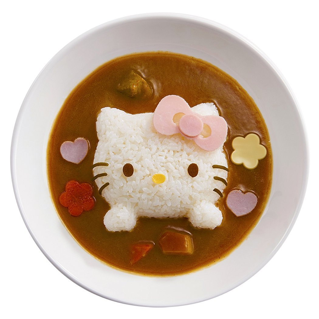 Hello Kitty Deco Curry Rice - Bento Tool Rice Moud