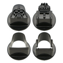Star Wars Shapped Food Cutters - Darth Vader and R2-D2 Vegetable Cutter ... - $8.00