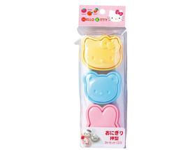 Hello Kitty  and Friends Rice Mold Set - Oniguiri Bowl Set - Japanese Ri... - $9.00