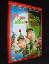 Disney's • Prep & Landing/Naughty & Nice (DVD, 2012) New!-Open•No Scratc... - $19.99