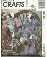 McCall's Crafts 4275 / Cow Dolls VTG. 1989 - $11.95