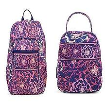 Vera Bradley Campus Backpack and Lunch Bunch Katalina Pink - $98.33
