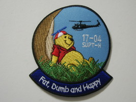 Army Helicopter Pilot Training Patch Ft. Rucker Upt Class 17-04 :GA18-1 - $6.50