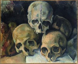 The Museum Outlet - Pyramid of Skulls, 1900, Stretched Canvas Gallery Wr... - $147.51