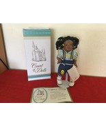 """Court of Dolls Ginger, African American Doll with Stand 10"""" Porcelaine 9... - $30.00"""
