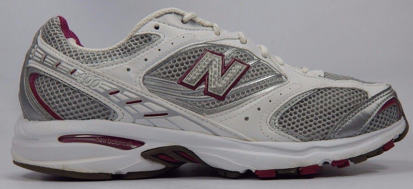 New Balance 400 Women's Running Shoes Size US 10 M (B) EU 41.5 Silver WR400SWP