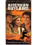 American Outlaws VHS Colin Farrell Scott Caan A... - $1.99