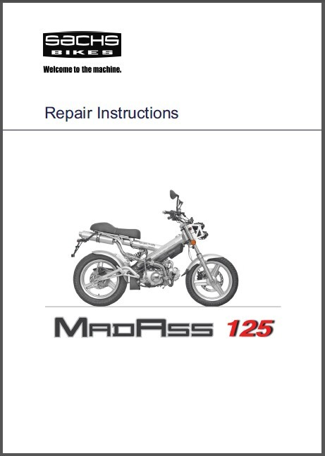 Sachs Madass Service Owners Manual Cd
