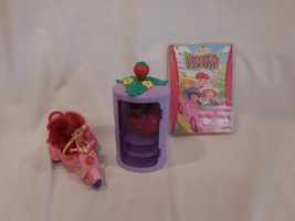 Strawberry Shortcake Goodies-to-Go Scooter + Doll+ Purple Mirror Wardrobe + DVD - $19.57