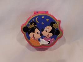 Polly Pocket Disney Minnie & Mickey Mouse Playcase Compact 1995 Vintage - $79.07