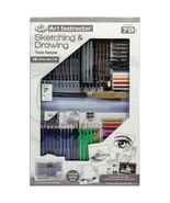 Art Instructor Sketching & Drawing Clearview Art Set-Large-79pc - $59.93