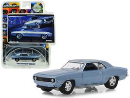 1969 Chevrolet Camaro Steel Blue Bowtie Pastya BFGoodrich Vintage Ad Cars Hobby  - $13.99