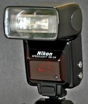 Nikon SB-24 Speedlight Flash Strobe In Fantastic 100% Working Condition.... - $65.00