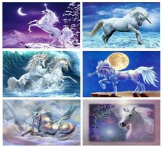 6 Unicorn Magnets - Set A - £15.17 GBP