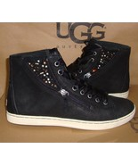 UGG Australia Black BLANEY CRYSTALS Lace Up Sneakers Size US 10 NIB #1008490 - $83.76
