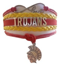 University of Southern California USC Trojans Fan Shop Infinity Bracelet Jewelry - $12.99