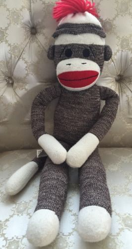 Primary image for SOCK MONKEY RESCUE MISSION...HOMES NEEDED...ADOPTION FEES ONLY...ZAK
