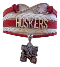 University of Nebraska Lincoln Cornhuskers Fan Shop Infinity Bracelet Je... - $12.99