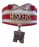 University of Nebraska Lincoln Cornhuskers Fan Shop Infinity Bracelet Je... - $12.99
