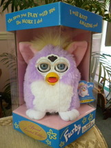 1998 Special Limited Edition Numbered Lavender Spring Furby  NRFB Model #70-884  - $59.99