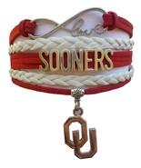 University of Oklahoma OU Sooners Fan Shop Infinity Bracelet Jewelry - $12.99