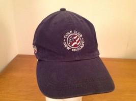 New England Golf Club Stratham NH Baseball Hat Cap Navy Blue Adjustable ... - $41.19