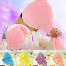 Quick Hair Drying Towel Bath Shower Spa Wrap Exclusive Headband Towel  - $1.99