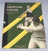 American Golfer Magazine January 1935 Lawson Little cover - $69.00