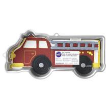 Wilton FireTruck Fire Truck Cake Pan Aluminum Birthday Fireman Ladder En... - ₨1,463.57 INR