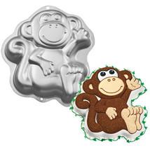 Wilton Monkey Cake Pan Aluminum 2105-1023 - ₨1,280.54 INR