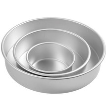 Deep Round Decorator Preferred Pan Set 3 pc Set 6, 10, 14 Pans - ₨3,049.81 INR