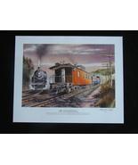 National Railroad Museum 2009 Membership Train Print Signed Numbered Kru... - $9.50