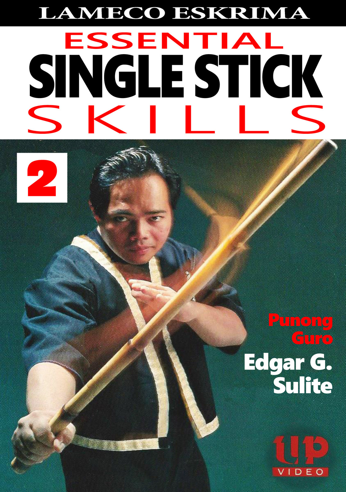 Lameco Eskrima Essential Single Stick Skills #2 Martial Arts DVD Edgar Sulite