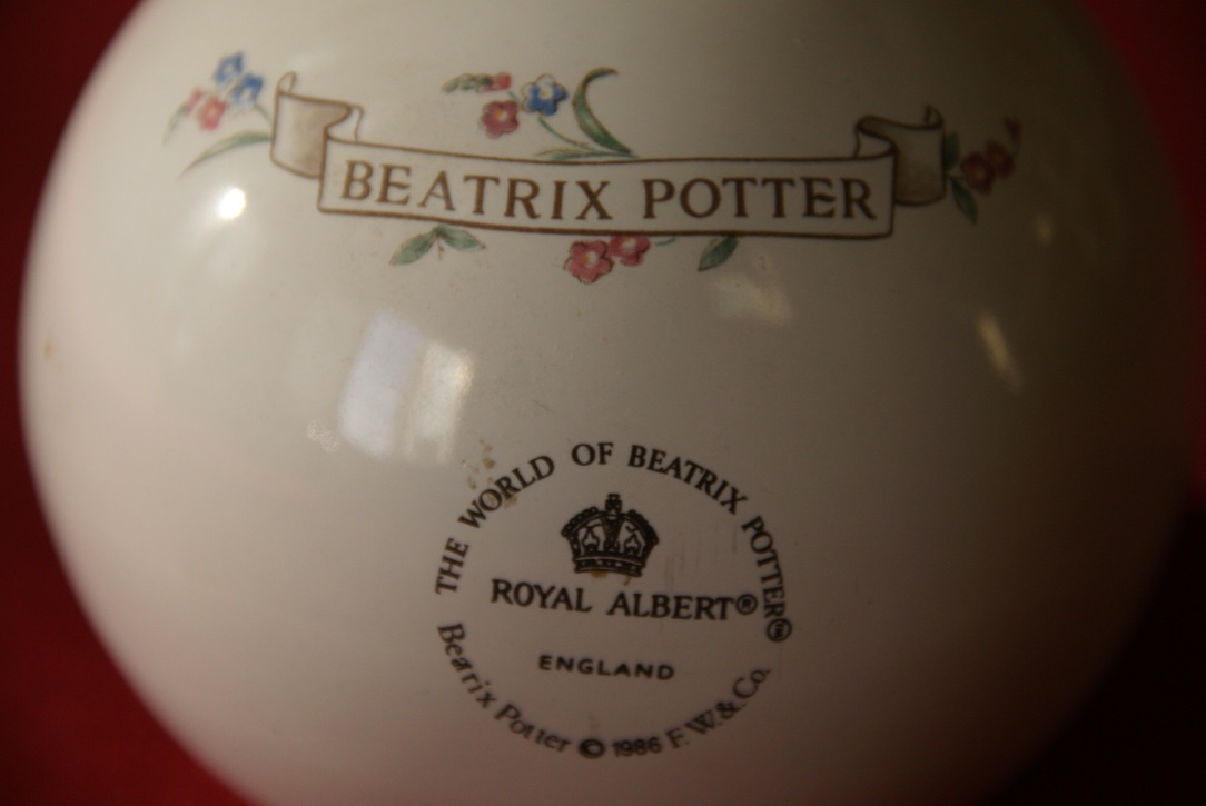Royal Albert Bank, Beatrix Potter Bank, Hunca ~ Munca Bank, Fine Bone China Bank