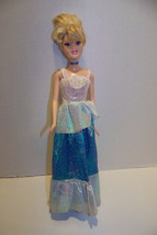 . Disney Cinderella 2005 doll with OOAK dress - $6.32